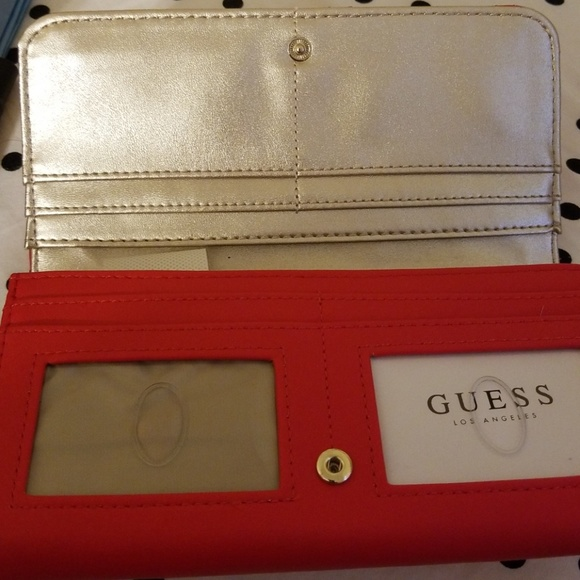 cheap price free shipping amazing selection Guess phone wallet with removable purse